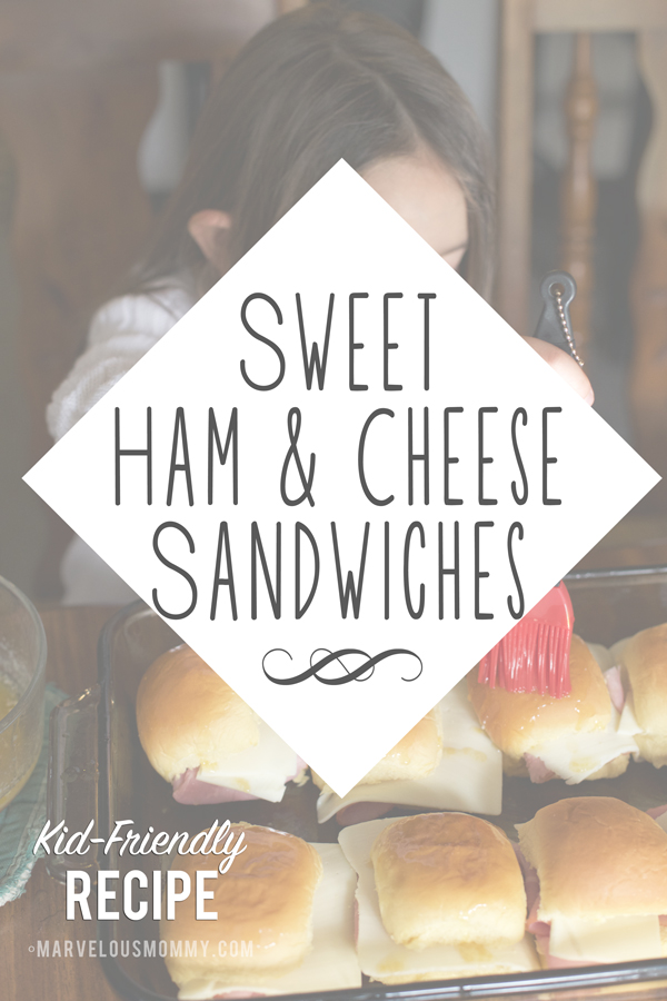Sweet Ham and Cheese Sandwiches   Kid Friendly Recipe   Cooking with Kids