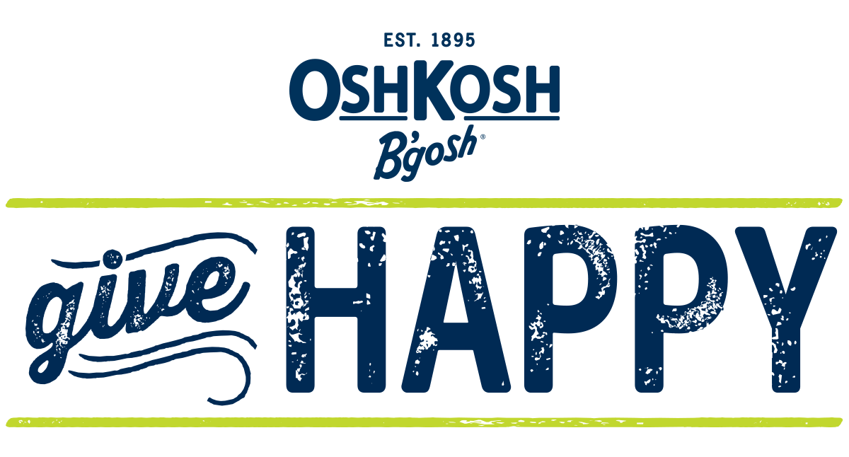 graphic relating to Oshkosh Printable Coupon identified as GiveHappy This Holiday vacation Period With OshKosh Bgosh (25% off