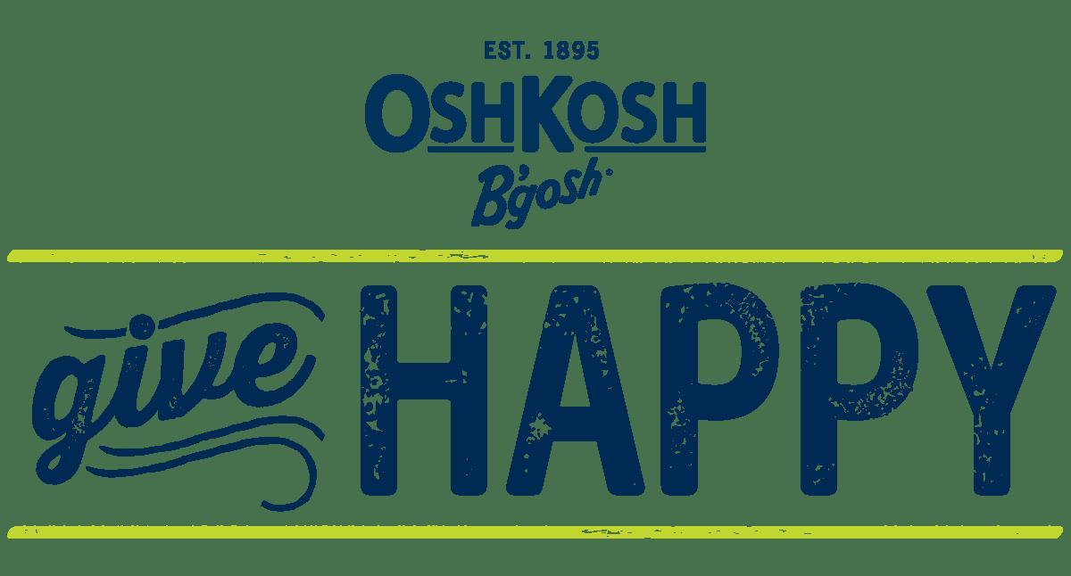 graphic relating to Oshkosh Printable Coupon identified as GiveHappy This Holiday vacation Period With OshKosh Bgosh (25% off