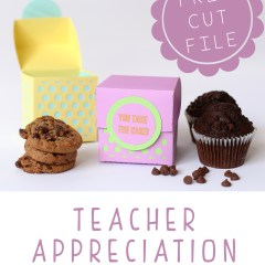 Teacher Appreciation Dessert Gift Box | MarvelousMommy.com