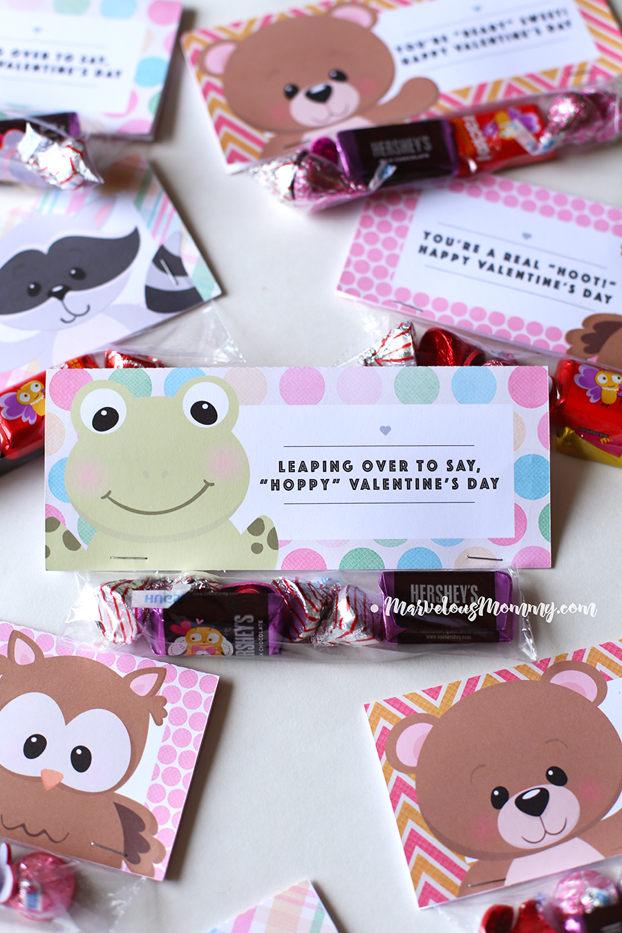 photo relating to Free Printable Treat Bag Toppers identified as Valentines Working day Take care of Bag Toppers Free of charge Printable