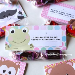 Woodland Animal Friends Printable Treat Bag Topper
