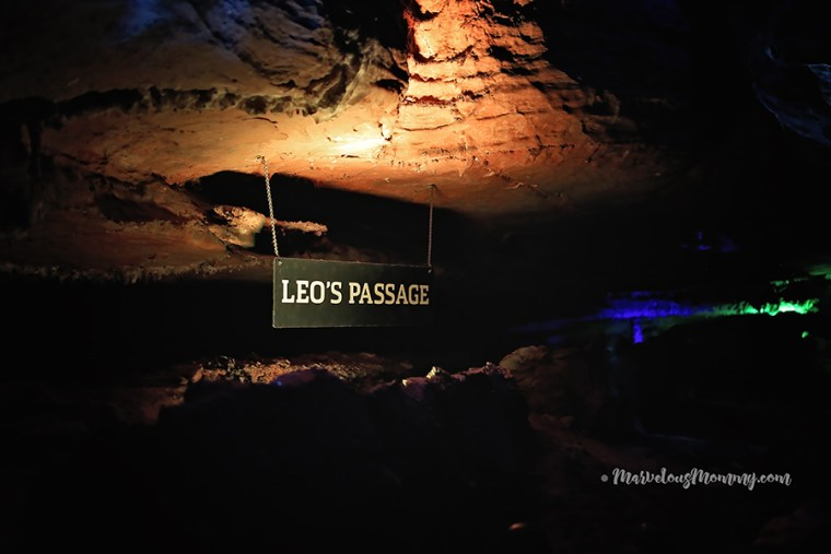 Leo Lambert's Passage at Ruby Falls