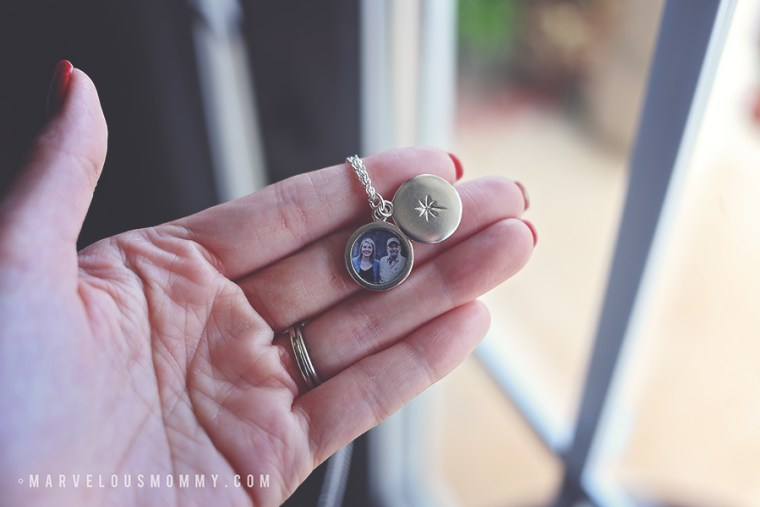 Silver Photo Locket Necklace from Snapfish