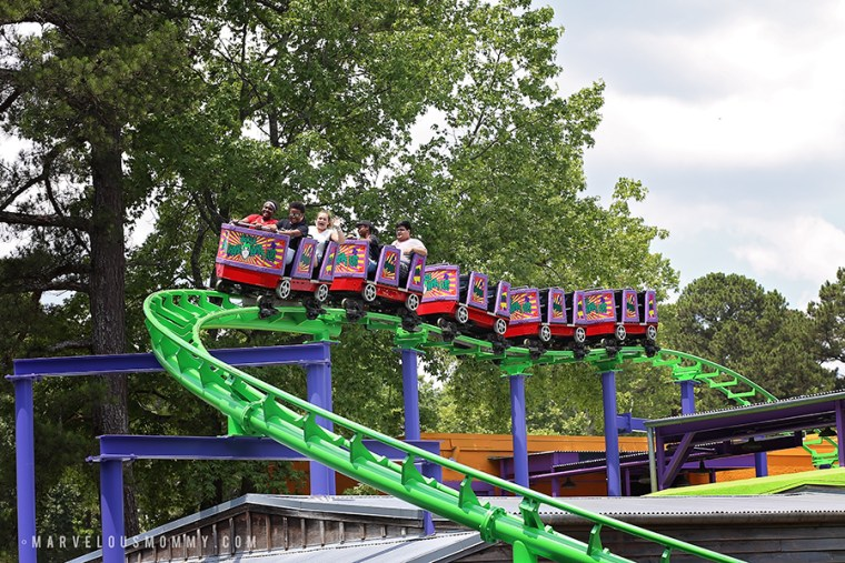 THE JOKER Funhouse Coaster