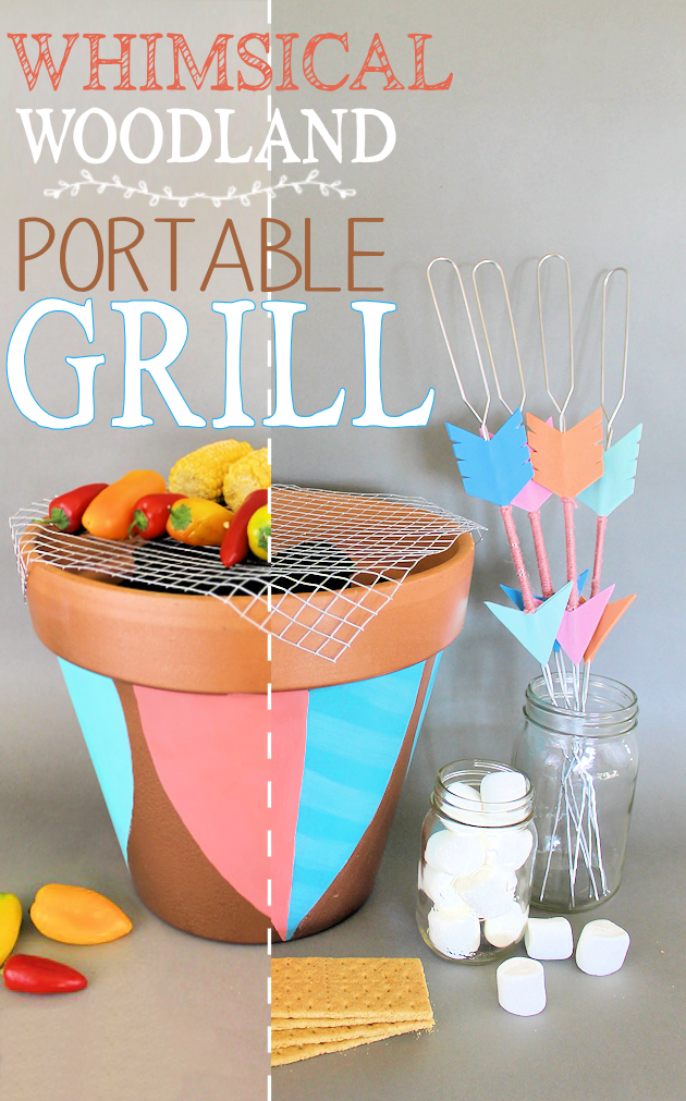 Whimsical-Woodland-Portable-Grill