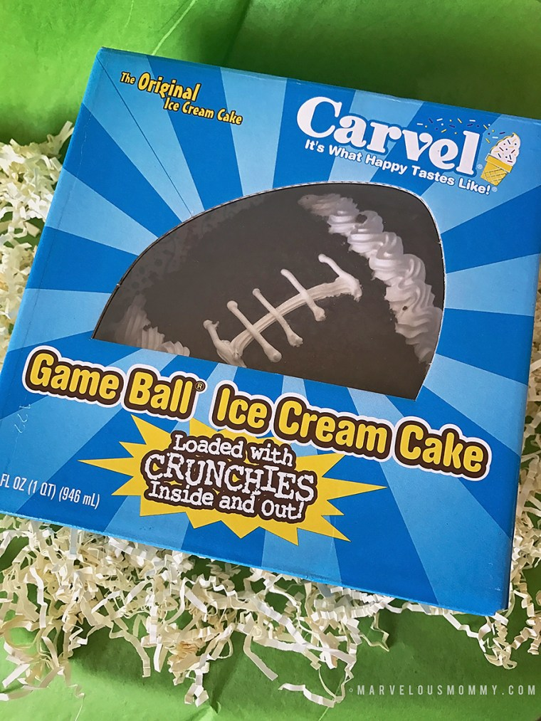 Carvel Game Ball Ice Cream Cake