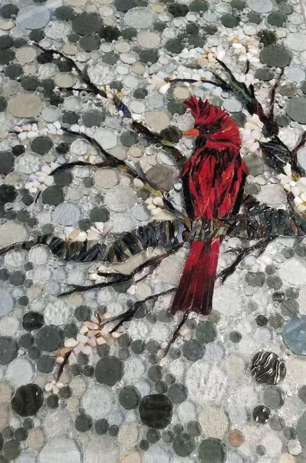 Kory Dollar Glass on Glass Mosaic