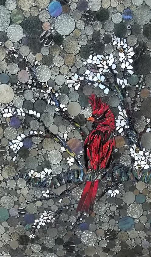 mosaic bird kory dollar