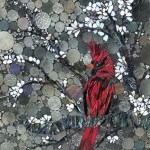 Cardinal By Kory Dollar of Marvelous Mosaic Fine Art