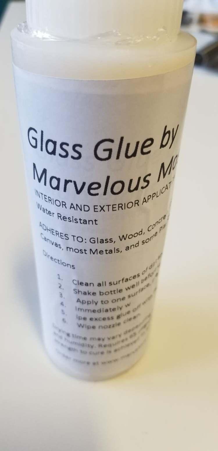 Glass Glue for Mosaics