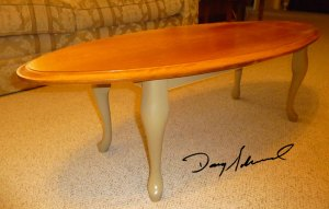 Custom Table by Doug Marvel, Marvelous Woodworking
