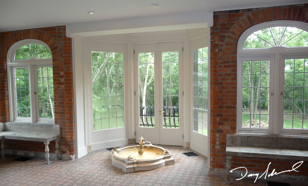 Parry Mansion finished room | Custom Woodworking