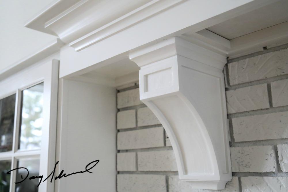 custom fireplace mantel_whitebrickcorbel