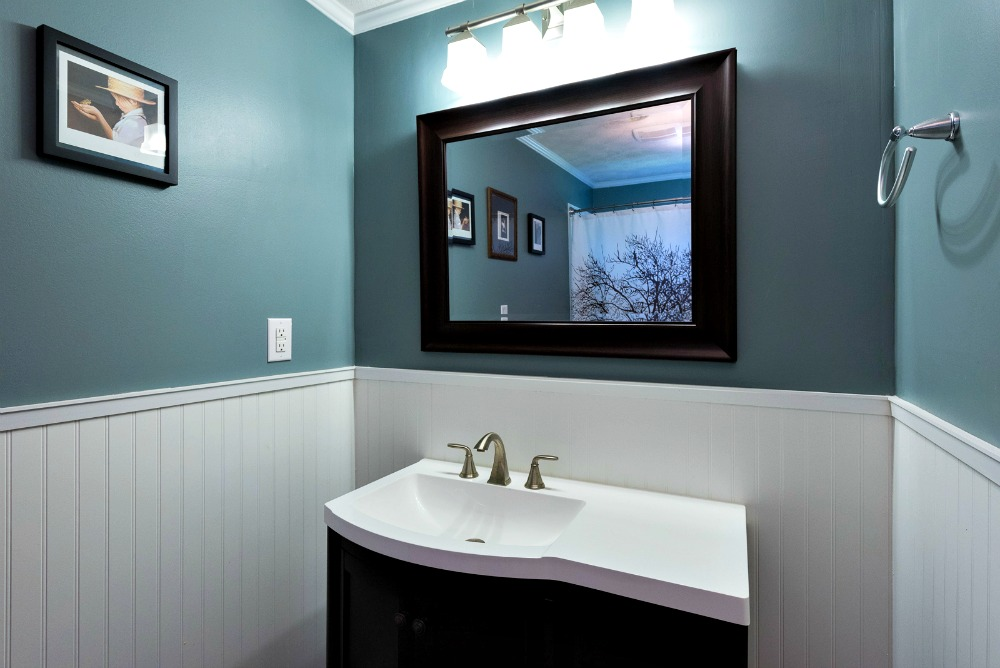 Adding wainscoting to your home marvelous woodworking for How much to add a half bathroom