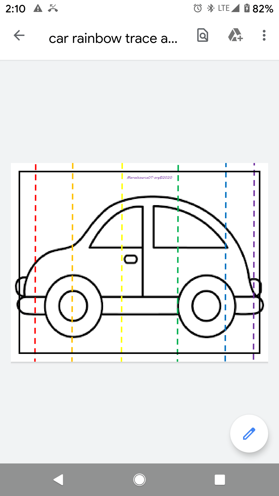 Build A Car Cut And Paste Jigsaw Worksheet