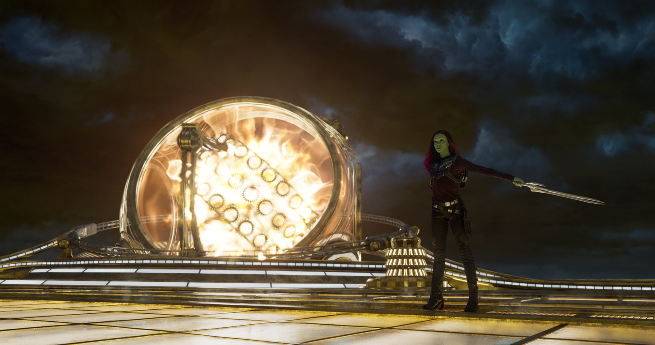 Guardians Of The Galaxy Vol. 2..Gamora (Zoe Saldana)..Ph: Film Frame..©Marvel Studios 2017