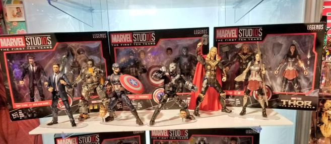 Hasbro Marvel Studios First 10 years 2