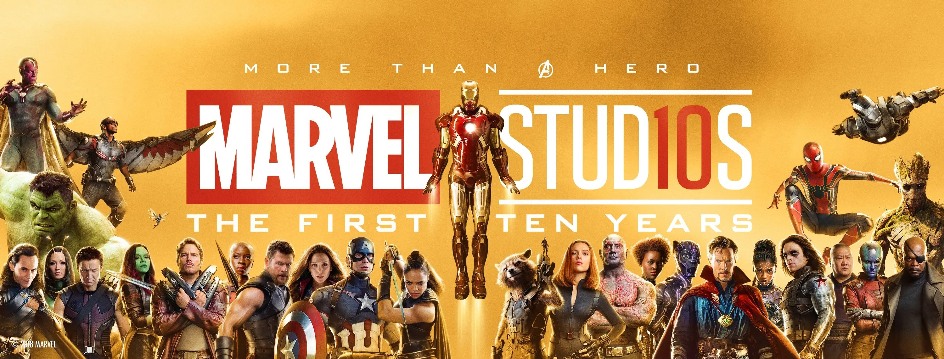 Marvel Studios 10th anniversary banner arrives in Times ...