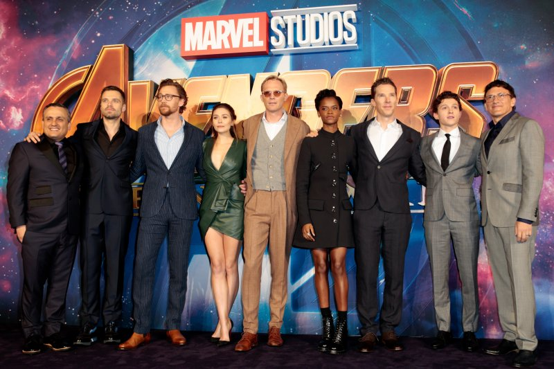 london england april 08 the cast attend the uk fan event to celebrate - The Avengers