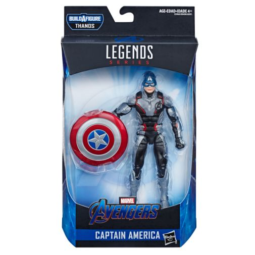 MARVEL AVENGERS ENDGAME LEGENDS SERIES 6-INCH CAPTAIN AMERICA FIGURE in pck