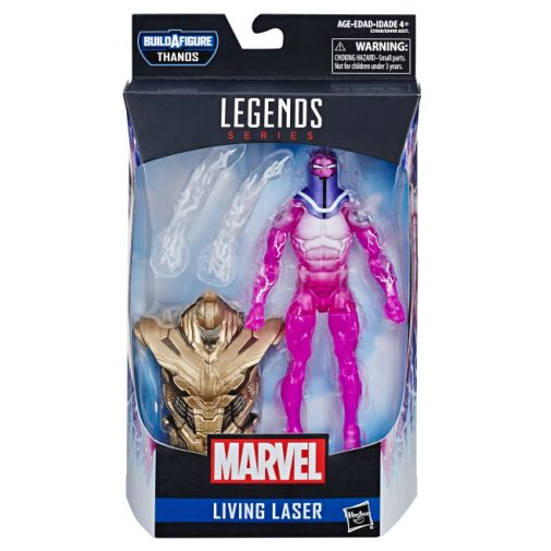 MARVEL AVENGERS ENDGAME LEGENDS SERIES 6-INCH LIVING LASER FIGURE in pck