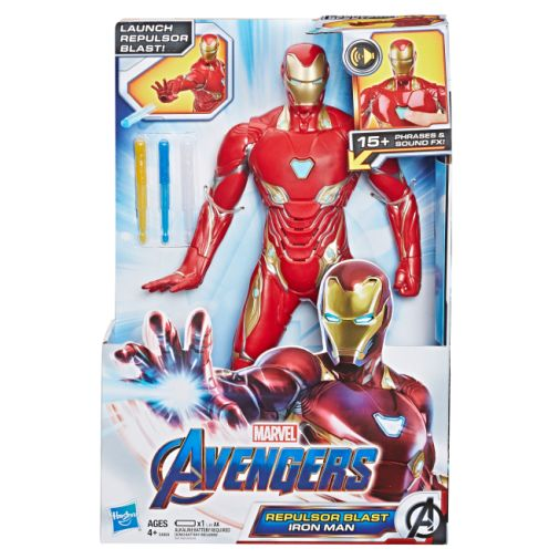 MARVEL AVENGERS ENDGAME REPULSOR BLAST IRON MAN Figure in pck