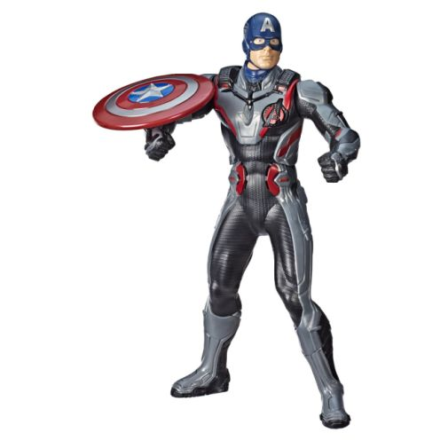 MARVEL AVENGERS ENDGAME SHIELD BLAST CAPTAIN AMERICA Figure oop