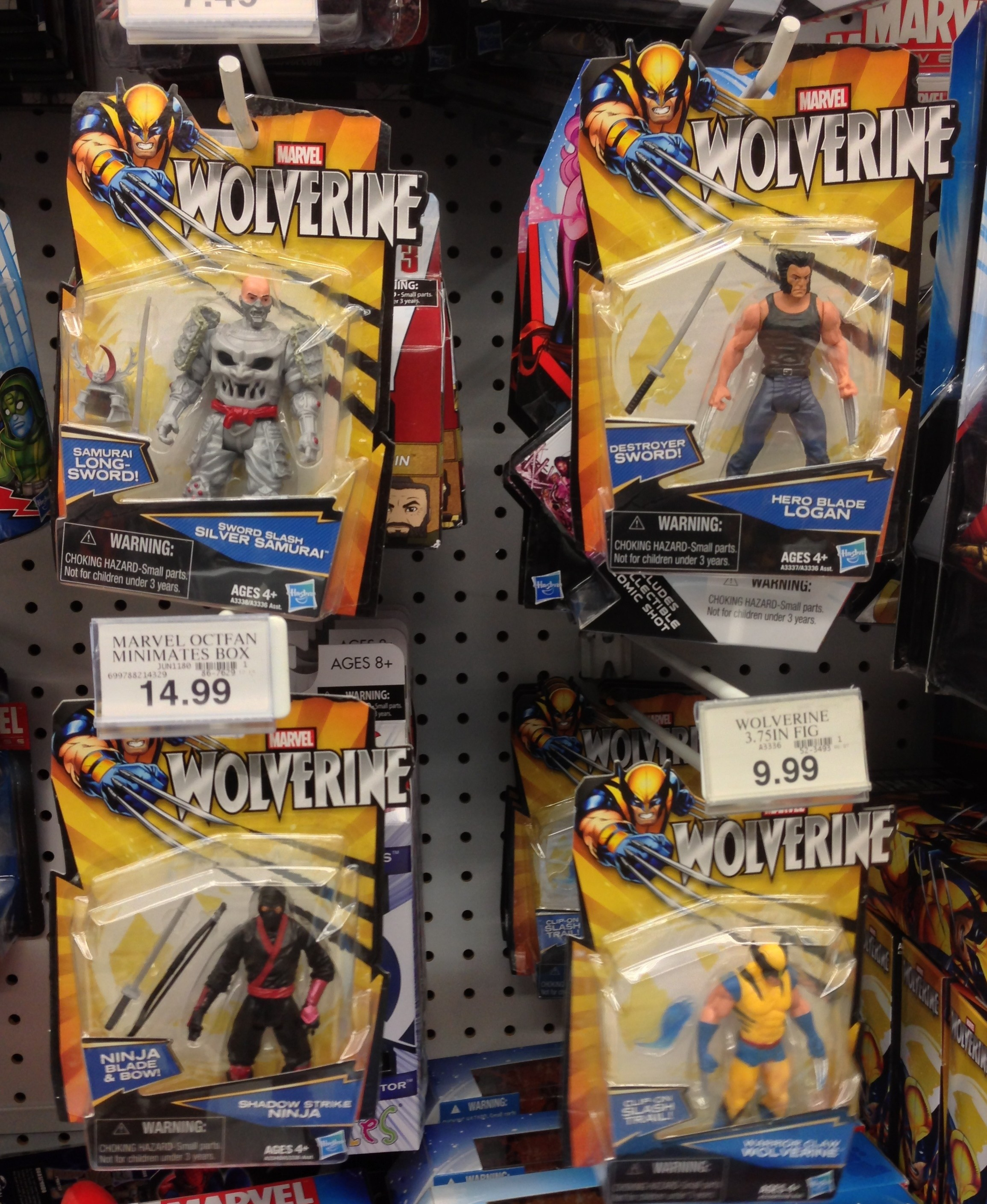 Wolverine Movie Action Figures Released By Hasbro Marvel Toy News