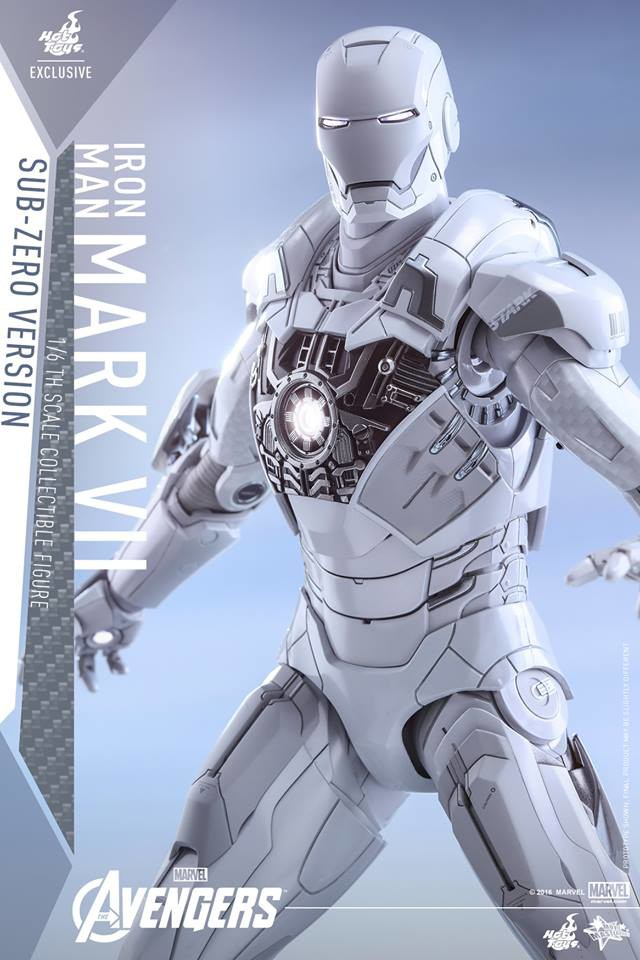 Hot Toys Sub Zero Iron Man Exclusive Figure Up For Order