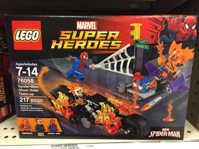 LEGO Spider-Man Ghost Rider Team-Up Set Box