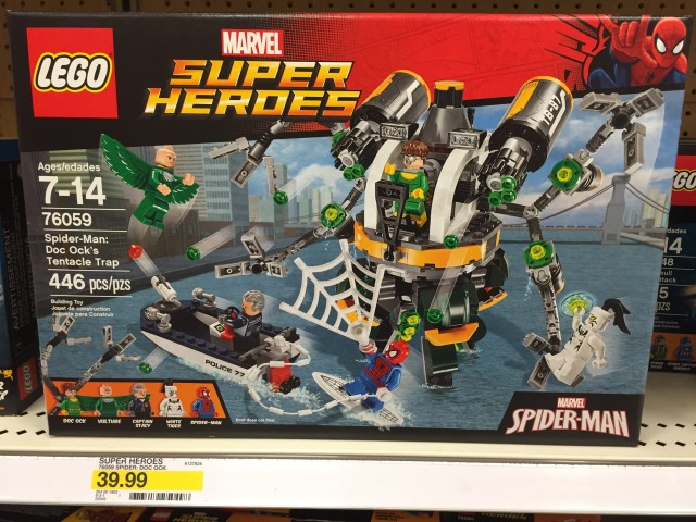 LEGO Doc Ock's Tentacle Trap Summer 2016 Set Box