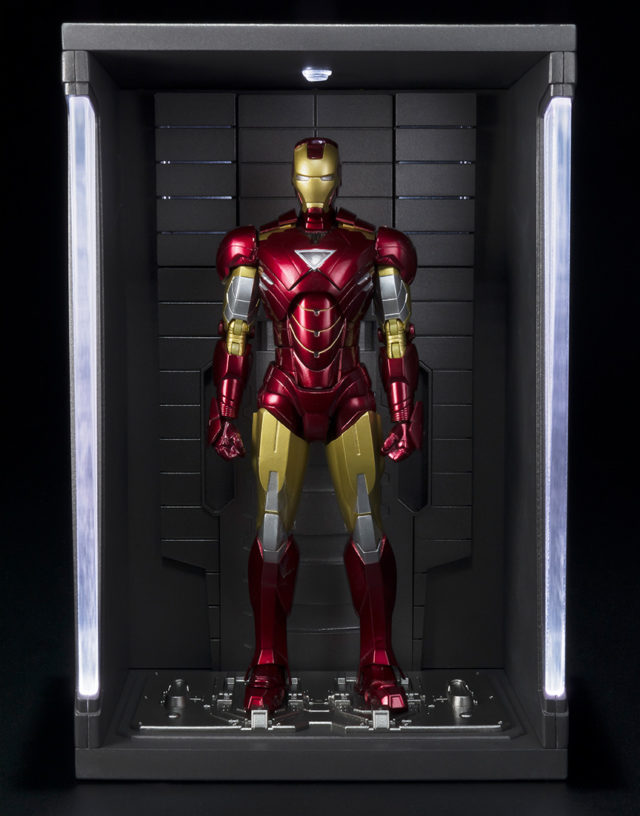 SH Figuarts Iron Man Mark 6 Figure Amp Hall Of Armor In The US Marvel Toy News