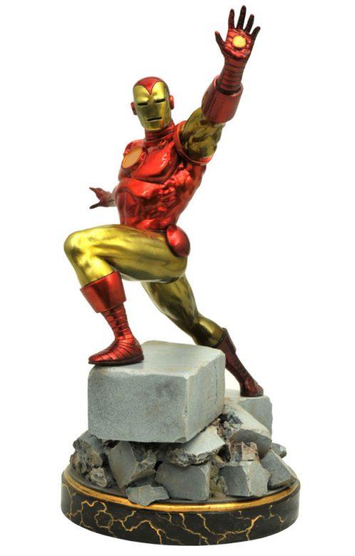 Diamond Select Toys Iron Man Marvel Premier Collection Statue Classic
