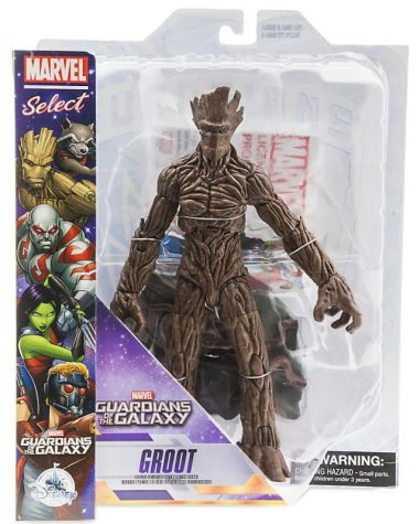 Exclusive Marvel Select Groot Figure in Box Packaged