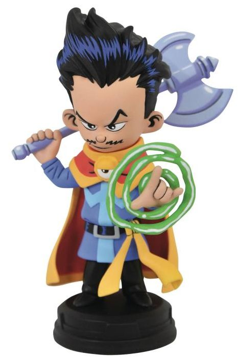 Marvel Animated Doctor Strange Statue Official Photo