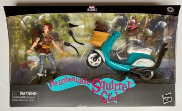 Marvel Legends 2020 Riders Squirrel Girl Scooter Packaged