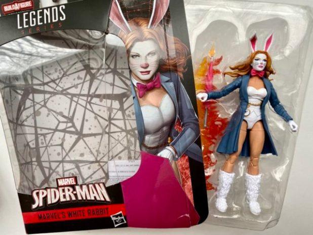 Unboxing Marvel Legends White Rabbit Action Figure