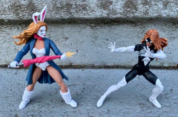 Spider-Man Legends Spider-Woman vs. White Rabbit