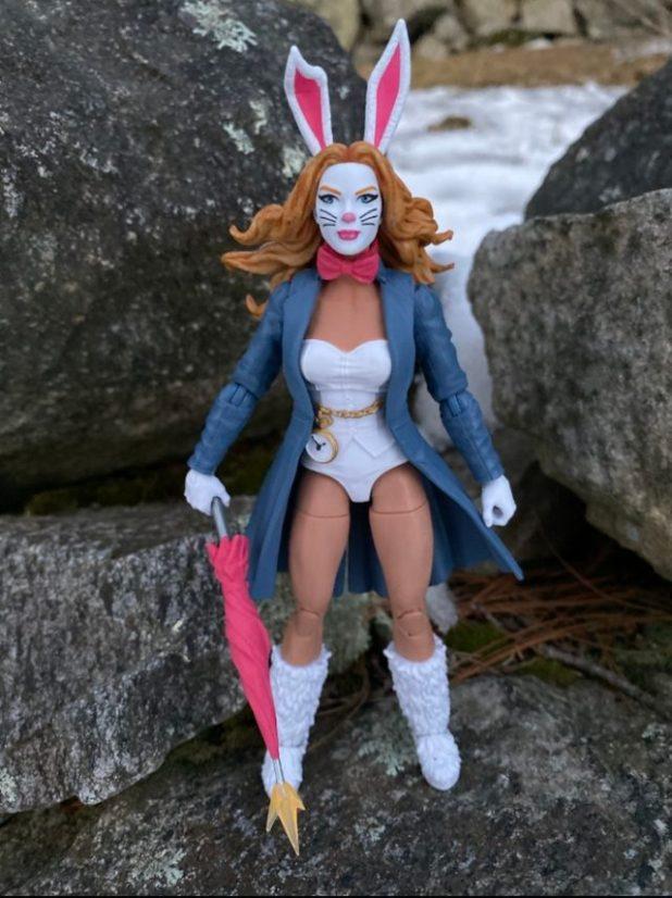 Spider-Man White Rabbit Six Inch Figure Hasbro