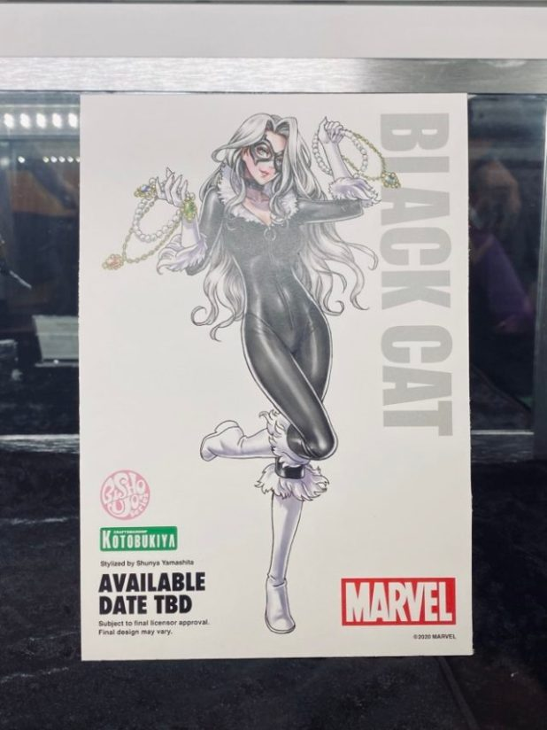 Kotobukiya Bishoujo Black Cat Version 2 Illustration