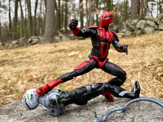 2020 Marvel Legends Armor Spider-Man vs. Superior Octopus