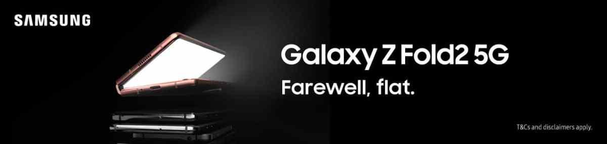 Galaxy Fold 2 Banner