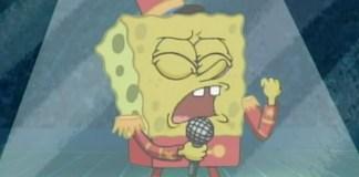 Maroon 5 juega con la idea de invitar a Bob Esponja a su show.