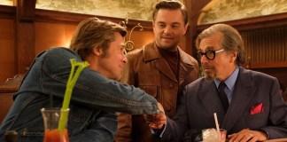 Al Pacino, Brad Pitt y Leonardo DiCaprio protagonizan.