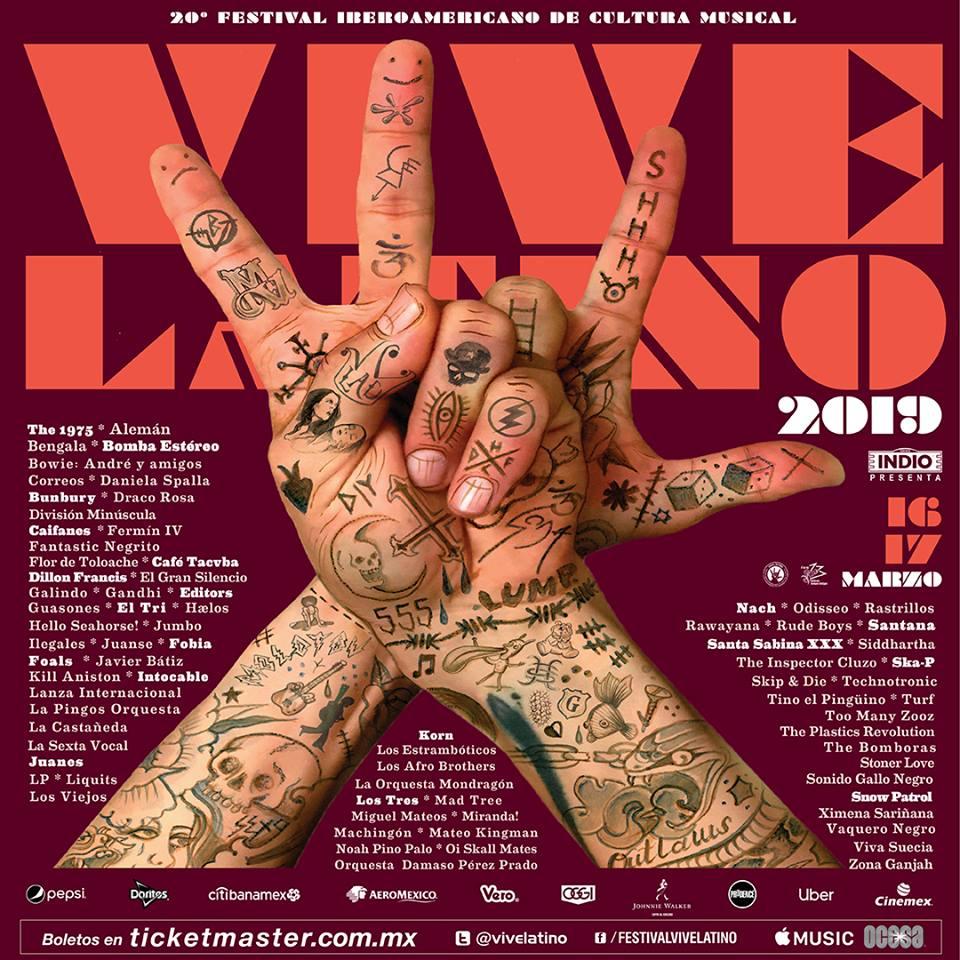 Cartel del Vive Latino