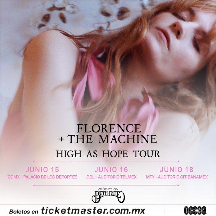 Florence + The Machine boletos, concierto