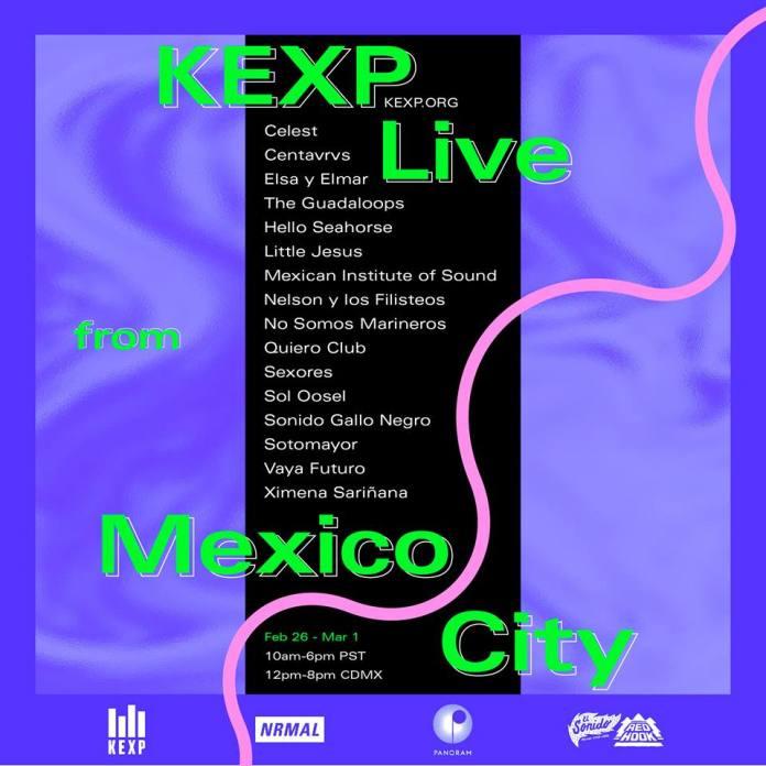 KEXP en Ciudad de México