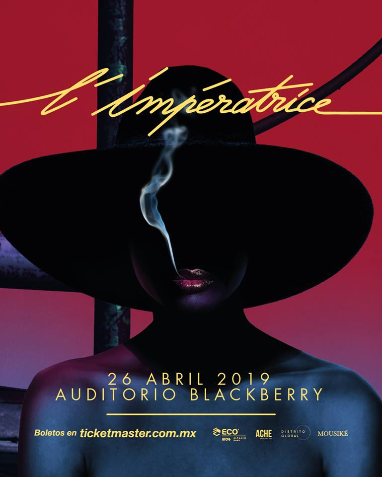 L'Imperatrice vendrá al Auditorio Blackberry