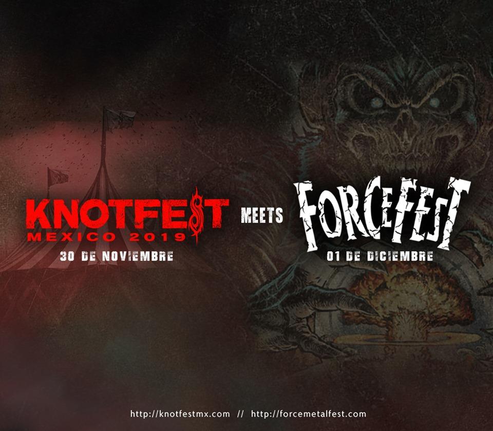 Knotfest meets Force Fest metal festival concierto